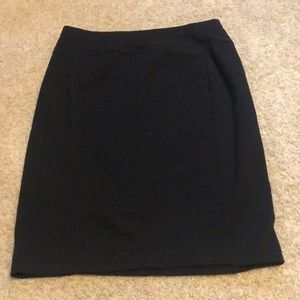 Black Pencil Skirt, NWOT